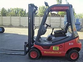 Vendo Grúa Horquilla Diesel