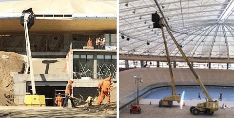 RB en Construcción del Velódromo Juegos ODESUR 2014