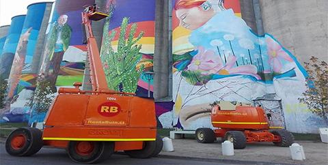 MURAL: Arte Urbano en las Alturas